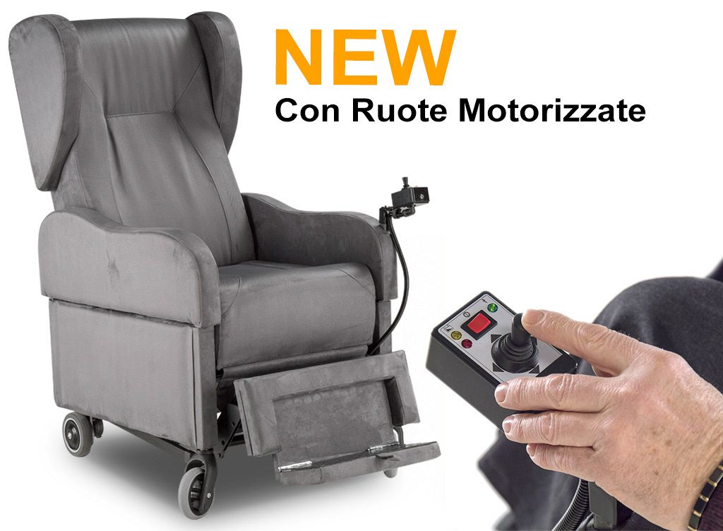 Catalogo poltrone per disabili e anziani relax drive
